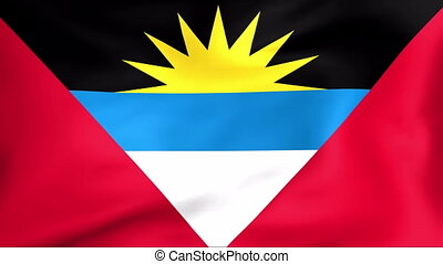 Flag Of Antigua and Barbuda - Developing the flag of Antigua...