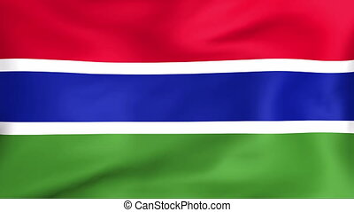 Flag Of Gambia - Developing the flag of Gambia