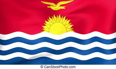 Flag Of Kiribati - Developing the flag of Kiribati