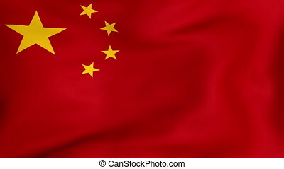 Flag Of China - Developing the flag of China