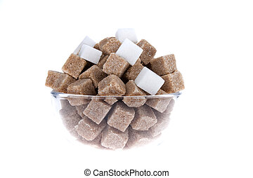 brown sugar. unhealthy diets with coal hydra