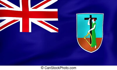 Flag Of Montserrat - Developing the flag of Montserrat