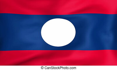 Flag Of Laos - Developing the flag of Laos