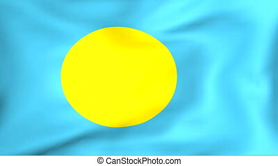 Flag Of Palau - Developing the flag of Palau