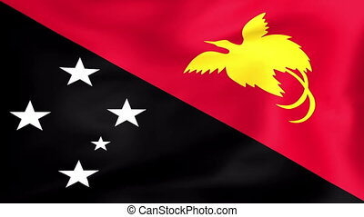 Flag Of Papua New Guinea - Developing the flag of Papua New...