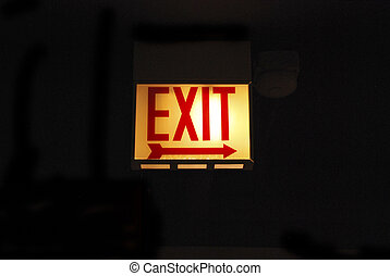 Light Signal Exit Right