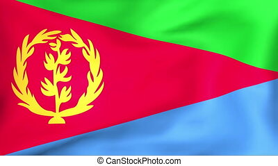 Flag Of Eritrea - Developing the flag of Eritrea