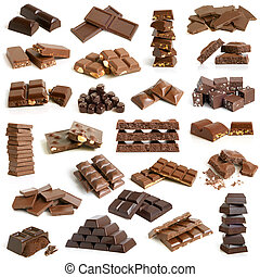chocolate, Colección
