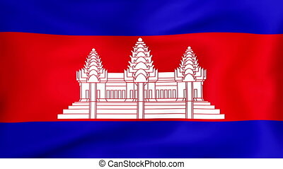 Flag Of Cambodia - Developing the flag of Cambodia