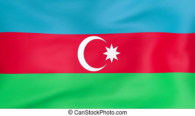 Flag Of Azerbaijan - Developing the flag of Azerbaijan