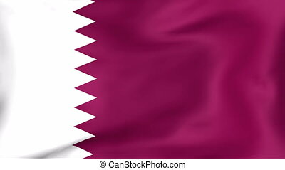 Flag Of Qatar - Developing the flag of Qatar