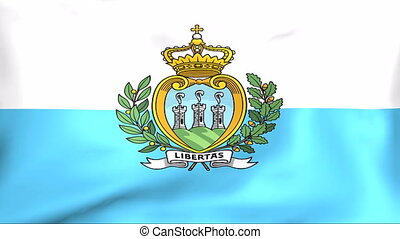 Flag Of San Marino - Developing the flag of San Marino