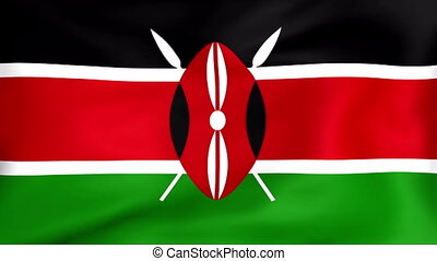Flag Of Kenya - Developing the flag of Kenya