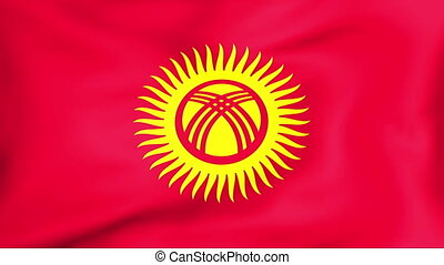 Flag Of Kyrgyzstan - Developing the flag of Kyrgyzstan