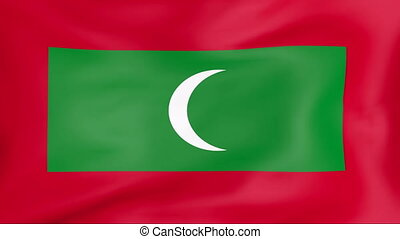 Flag Of Maldives - Developing the flag of Maldives