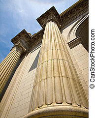 Union Station at Washington DC Showing Columns