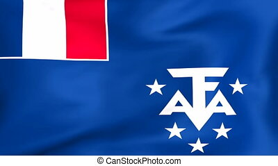 Flag Of French Southern and Antarctic Lands - Developing the...