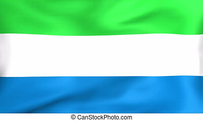 Flag Of Sierra Leone - Developing the flag of Sierra Leone