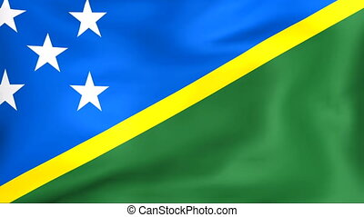 Flag Of Solomon Islands - Developing the flag of Solomon...