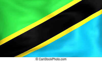 Flag Of Tanzania - Developing the flag of Tanzania