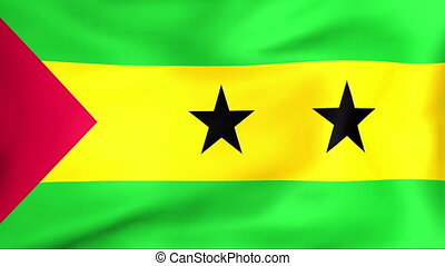 Flag Of Sao Tome and Principe - Developing the flag of Sao...