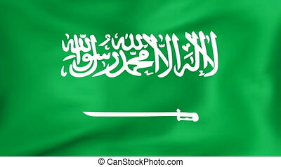 Flag Of Saudi Arabia - Developing the flag of Saudi Arabia