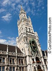 Rathaus Munchen - munchen munich germany bayern bavaria...
