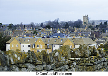 Chipping Campden in UK - Chipping Campden village in the...