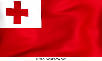 Flag Of Tonga - Developing the flag of Tonga