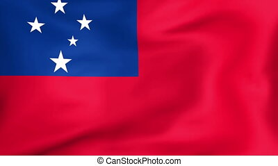 Flag Of Samoa - Developing the flag of Samoa