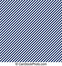 Seamless Blue & White Stripe - Seamless navy blue and white...