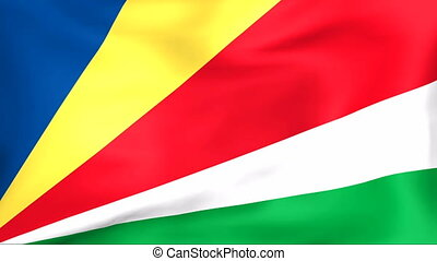 Flag Of Seychelles - Developing the flag of Seychelles