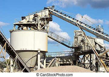 Cement factory machinery