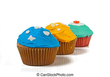 Cupcake - 5 - Home made cupcakes in delicious colors
