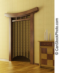 Chinese style lounge room