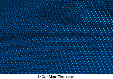 Blue metal mesh plating - Blue metal mesh plating isolated...