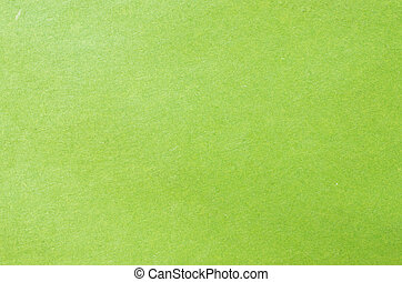 Green paper or plaster