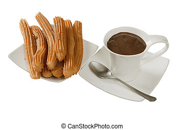 chocolate,  churros