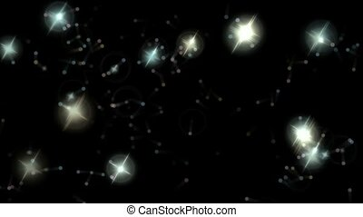 stars and falling dots as holiday - stars falling dots as...
