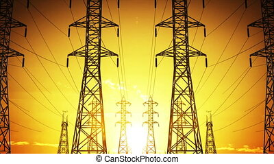 Construction of high voltage towers, Seamless Loop