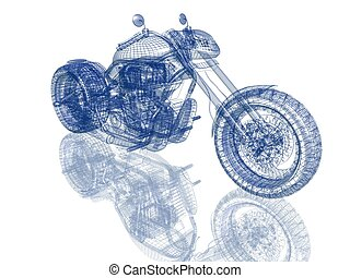 picture of 3D bike