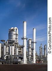 Refinery 15 - Refinery in Europoort,Rotterdam,Holland