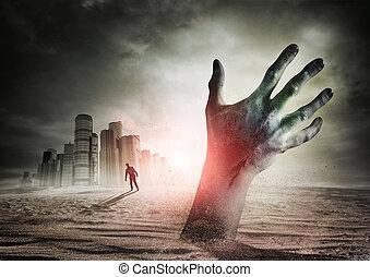 zombi, levantamiento