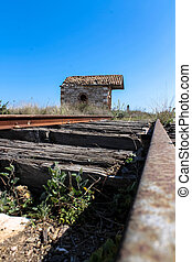 Lavrio trainstation