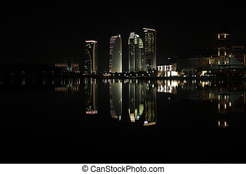 Putrajaya in the night