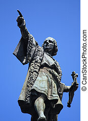 Columbus Monument, Barcelona - monument to Christopher...