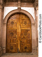 Church Door Mexico