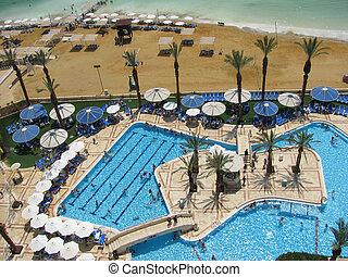 Hotel beach by Dead Sea - Luxury Hotel beach by Dead Sea