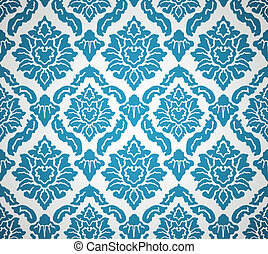 The background with abstract floral elements