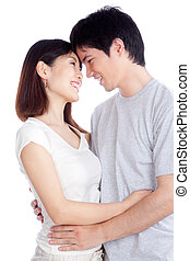 Asian Young Couple